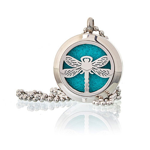 dragonfly locket pad