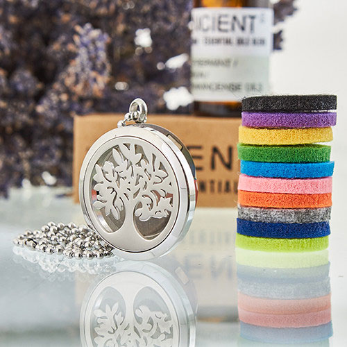 treeoflife aromatherapy necklace