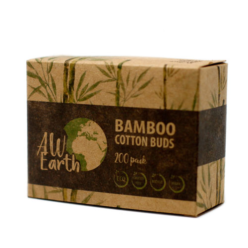 bamboo cotton buds packaging