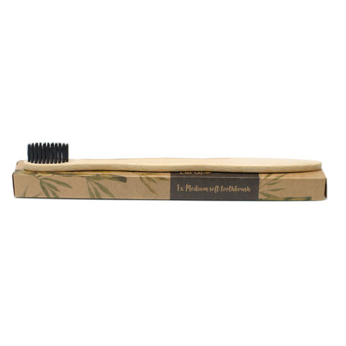 charcoal bamboo tooth brush