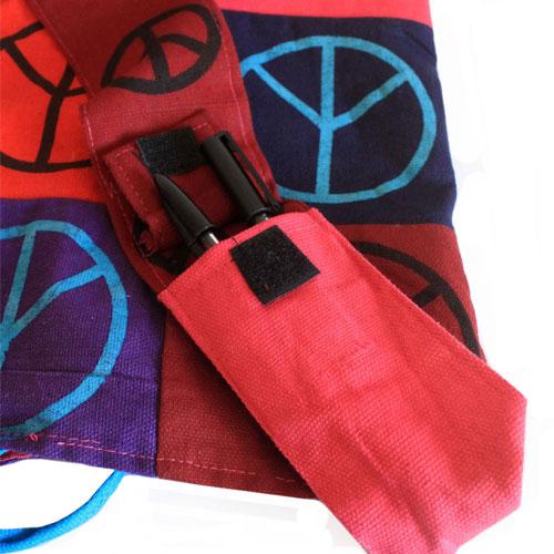 cotton patch sling bag peace 4