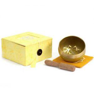 Solar Plexus Chakra Singing Bowl
