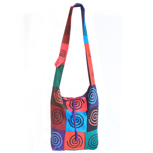 cotton sling bag spiral 1