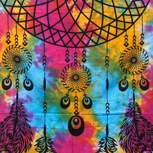 double cotton dream catcher