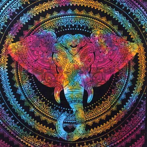 double cotton elephant