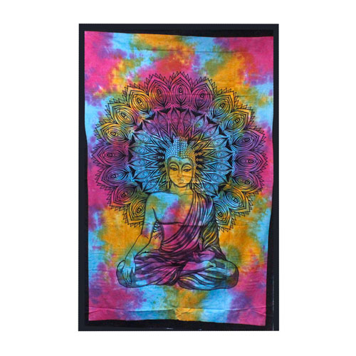 double cotton peaceful buddha 3