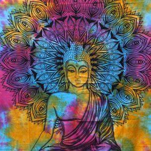 double cotton peaceful buddha