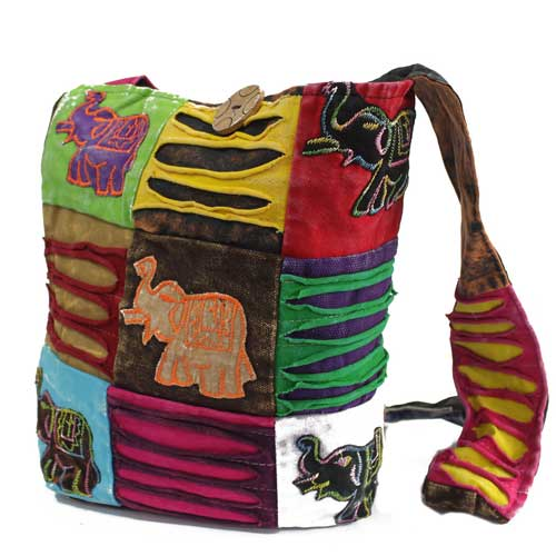 Ethnic Elephant Sling Bag