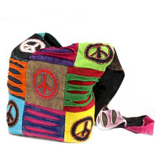 Ethnic Peace Sling Bag