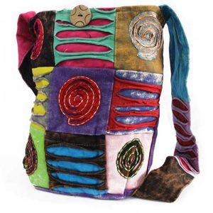 Ethnic Spiral Sling Bag
