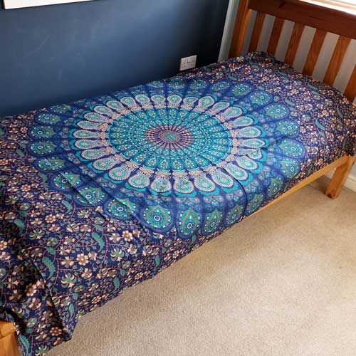 single cotton classic mandala 1