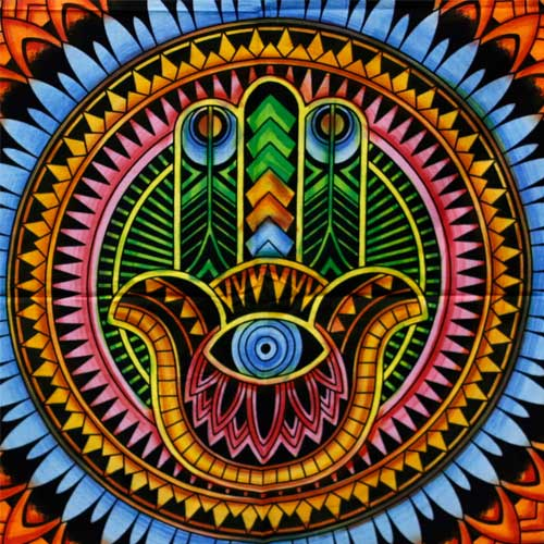 wall art hand of fatima