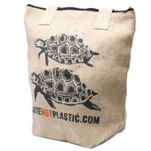 Turtle Eco Jute Bag