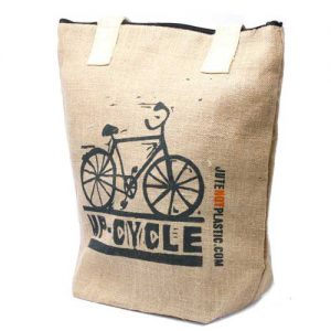 Up Cycle Eco Jute Bag