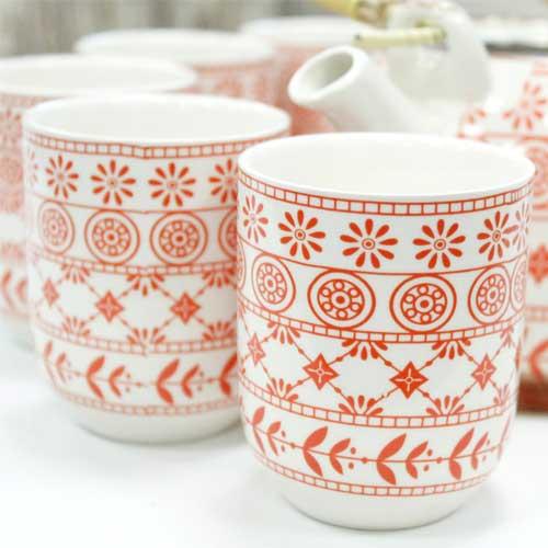 herbal teapot set amber 1
