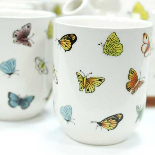 herbal teapot set butterflies 1