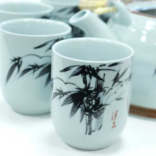 herbal teapot set oriental 1