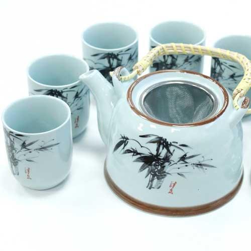 herbal teapot set oriental