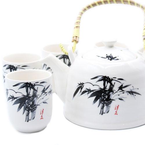 oriental herbal teapot set 1