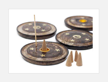 Incense Sticks and Holders