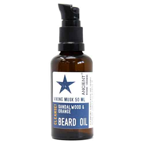 cleansing beard oil
