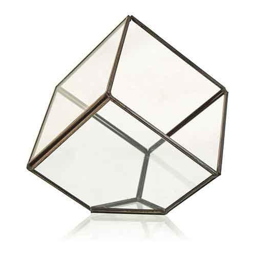 Glass Terrarium Cube
